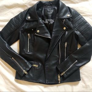 BNWOT Blank NYC leather jacket
